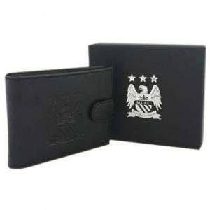 Oficiální autentická kožená peněženka Manchester City