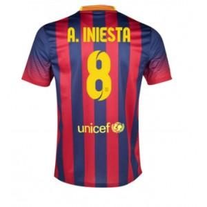 Dres Iniesta FC Barcelona 2013/2014 domácí