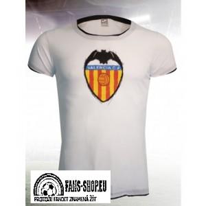 Tričko Valencia CF, White Logo Style, dámské