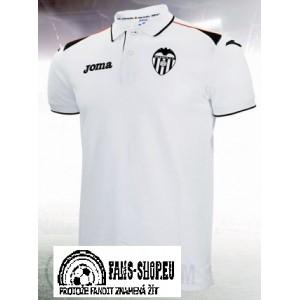Polo tričko Valencia CF, White Style, Joma