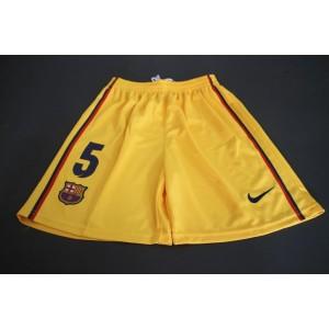 Trenýrky FC Barcelona Puyol 2012/13 venkovní, dětské